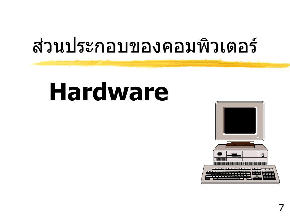 ส่วนประกอบของคอมพิวเตอร์ Hardware 7