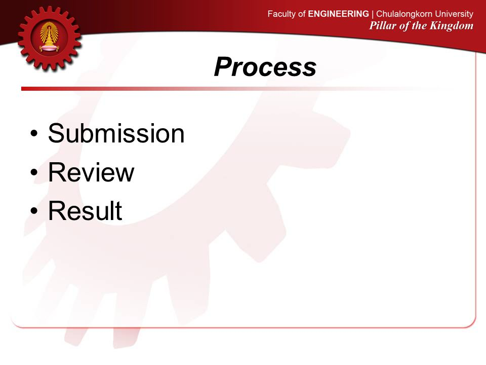 Process Submission Review Result