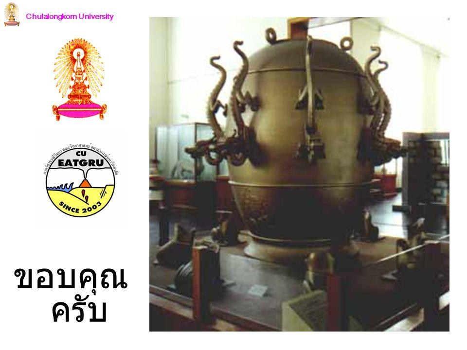 Chulalongkorn University ขอบคุณ ครับ
