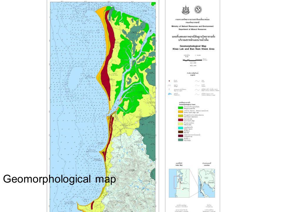 Geomorphological map