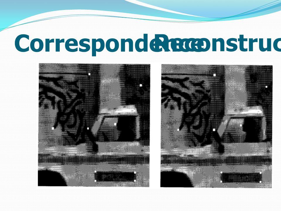 Correspondence Reconstruction