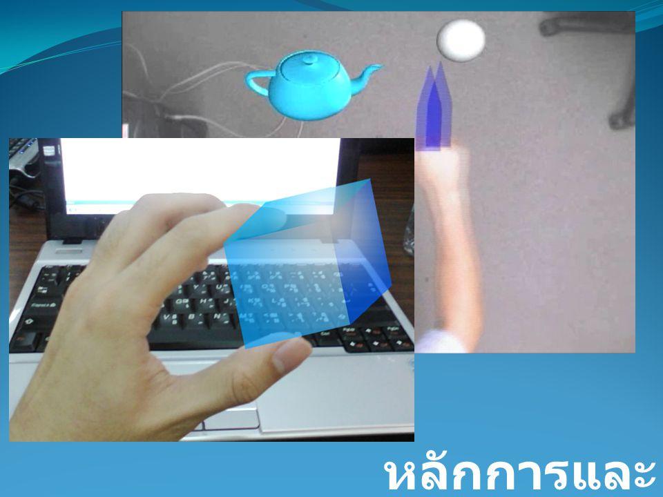 วัตถุประสงค์ ทำให้มือสามารถ จับ, ผลัก, บิด กับแบบจำลองวัตถุเสมือนใน Augmented reality ได้