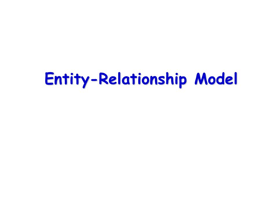 Contents Entity-Relationship Model (E-R Model) Entities Relationships Degree of Relationship Weak Entity Multivalued Attribute Repeating Group Supertypes and Subtypes Business Rules