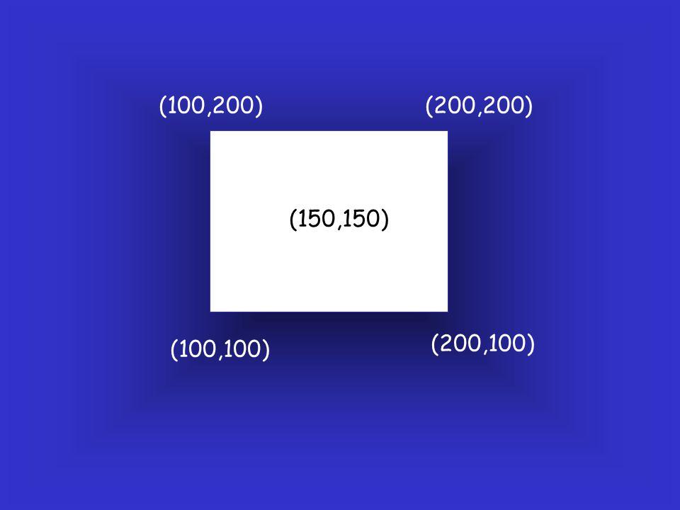 (100,100) (200,100) (200,200)(100,200) (150,150)
