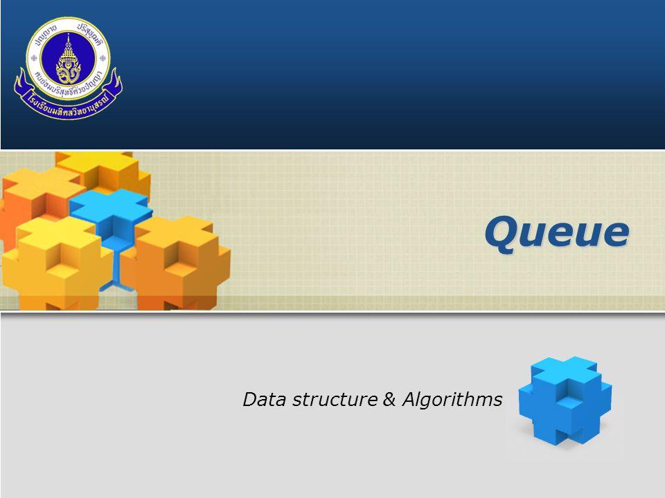 LOGO Queue Data structure & Algorithms