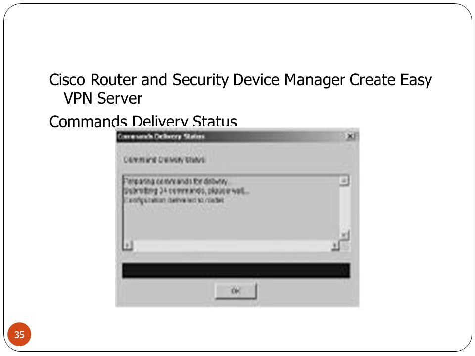 Cisco Router and Security Device Manager Create Easy VPN Server Edit Tab 36
