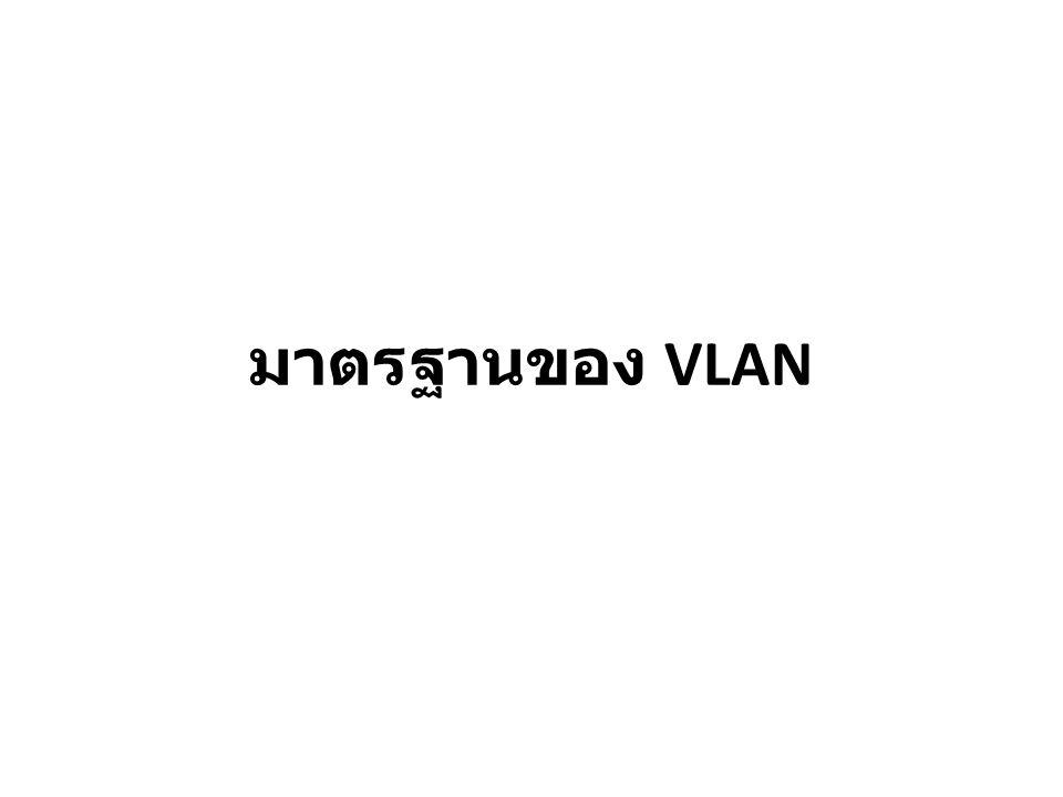 มาตรฐานของ VLAN