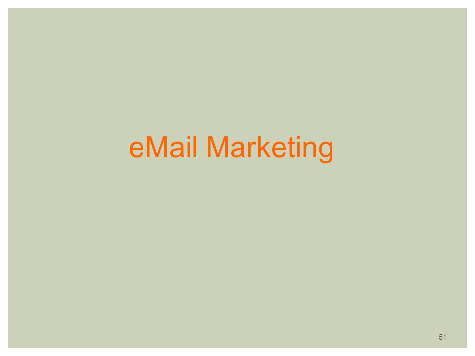 eMail Marketing 51