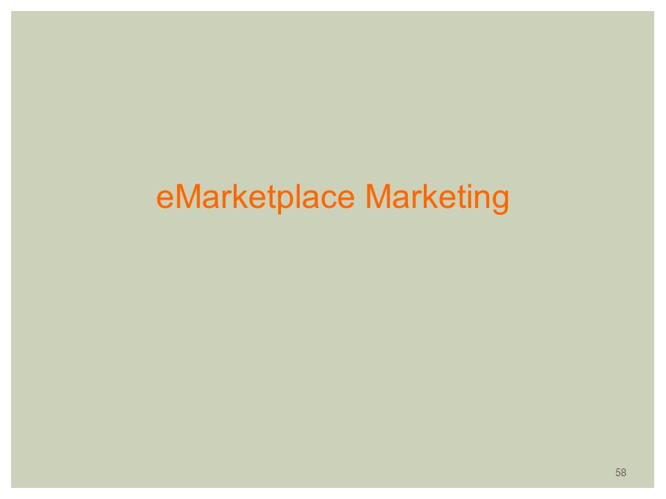 eMarketplace Marketing 58