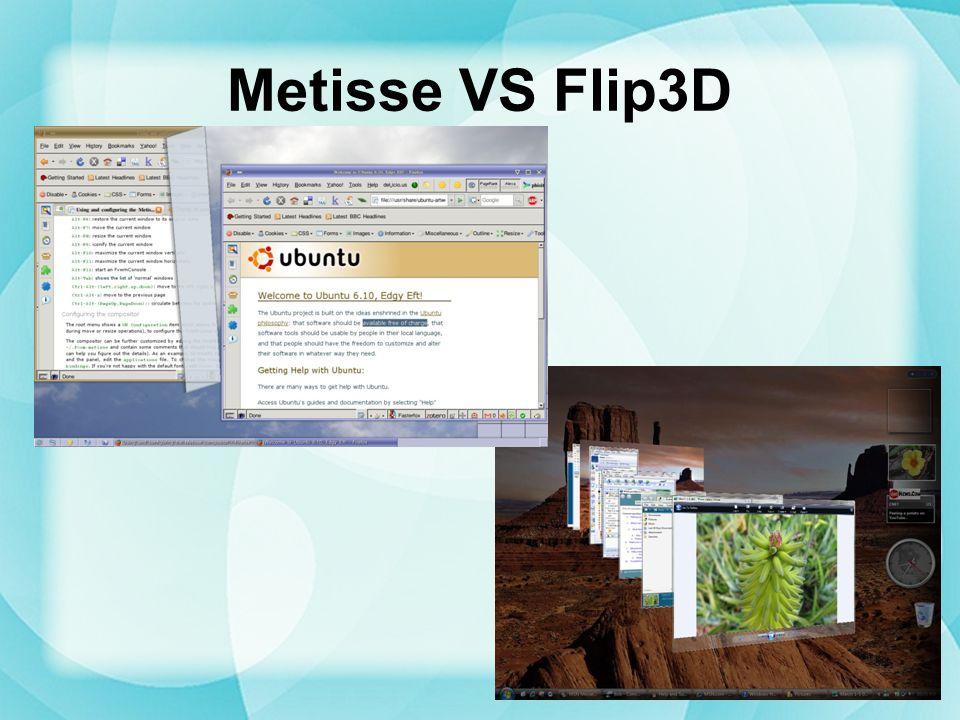 Metisse VS Flip3D