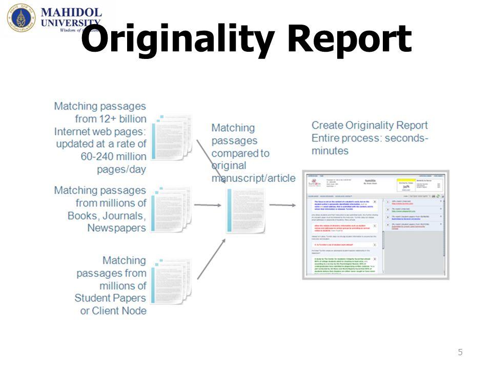 Originality Report 5