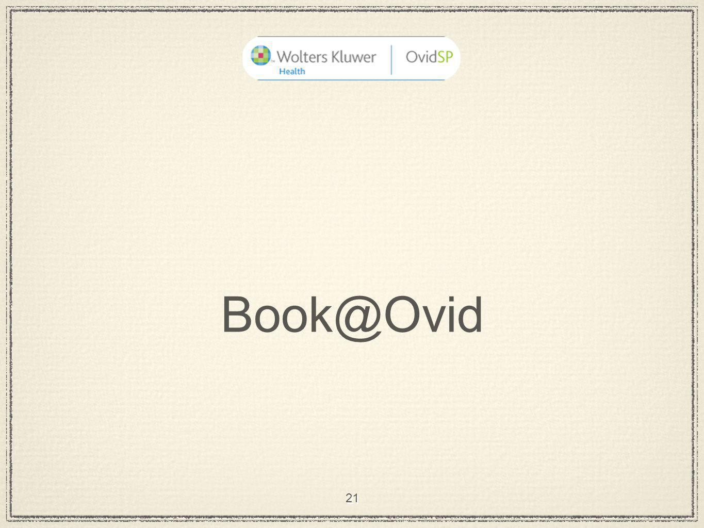 21 Book@Ovid