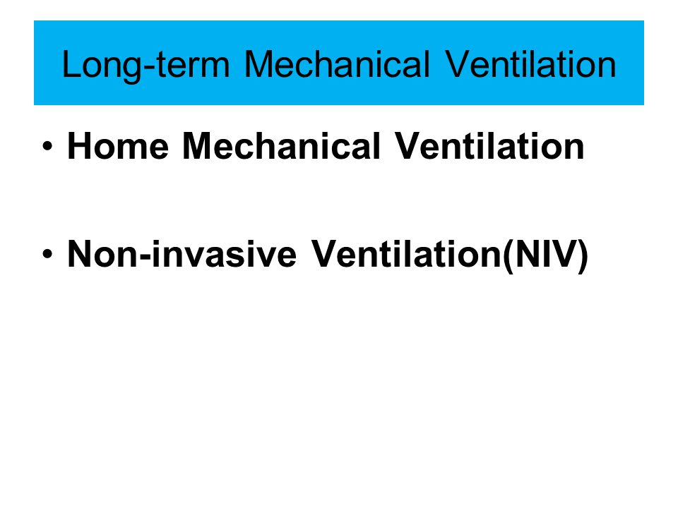 How to succeed in NIV Good candidate Good initial settings Good monitoring Good criteria for termination (change to invasive) Not too bad ventilator!!