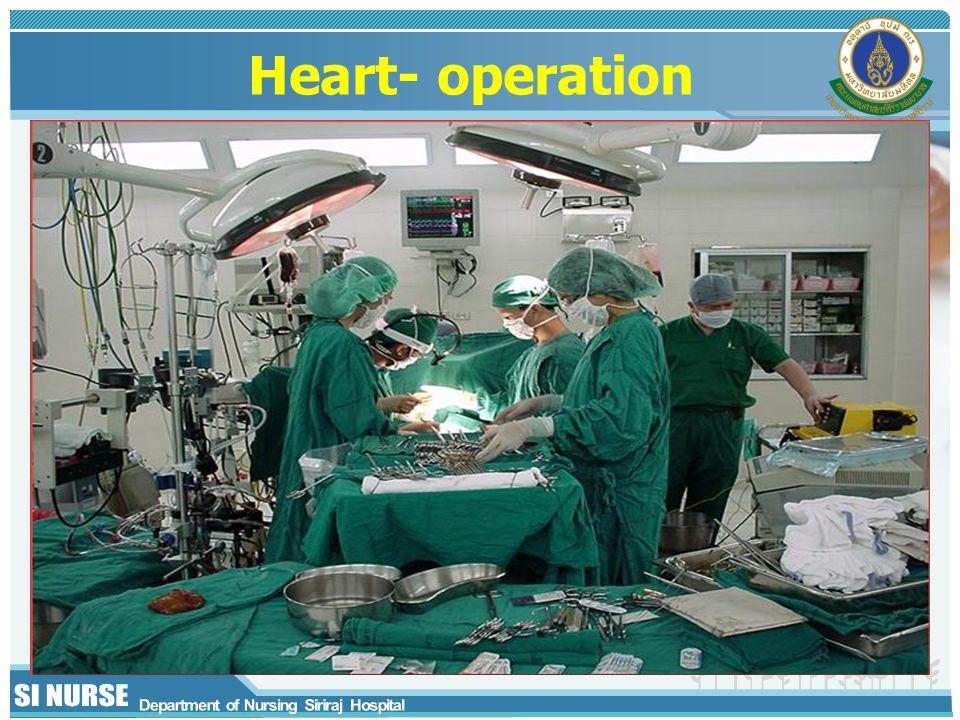 Heart- operation
