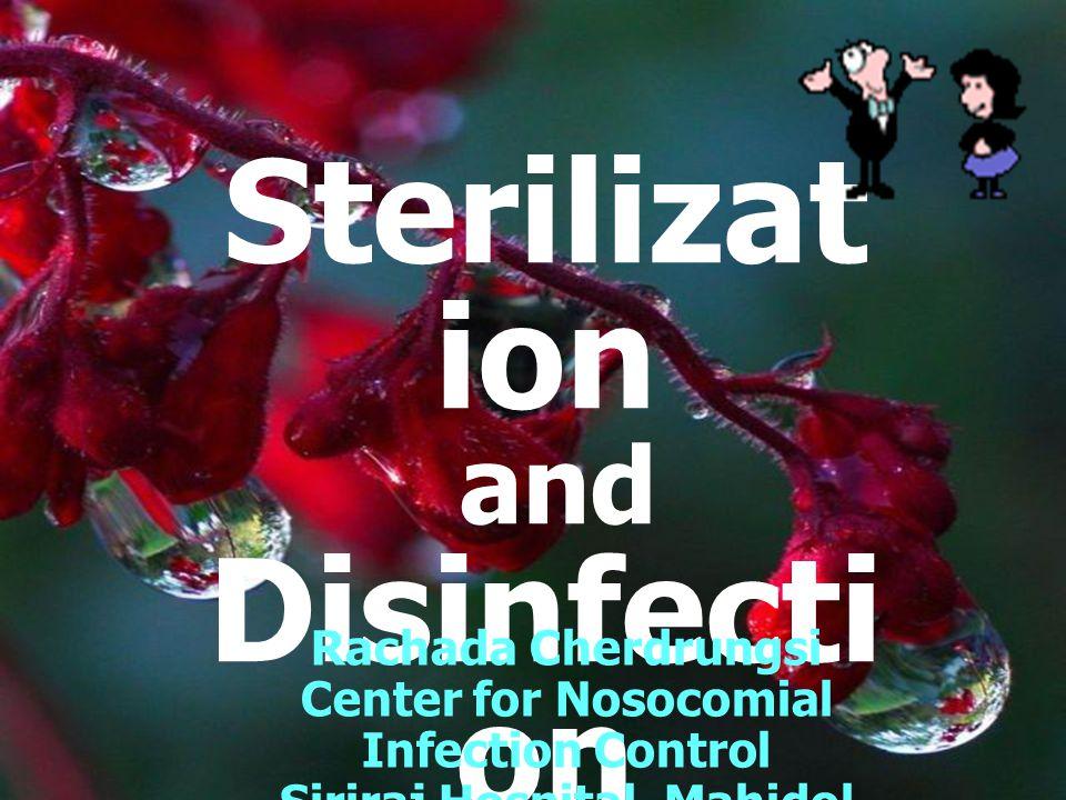 Chlorhexidine Chlorhexidine (Hibitane,Hibiscrub) คุณสมบัติ - ฤทธิ์ทำลายเชื้อจำกัด - ไม่สามารถทำลาย Spore - มีฤทธิ์คงค้างอยู่ได้นาน - ทำลายแบคทีเรียกรัมบวกได้ ดีกว่ากรัมลบ - นิยมใช้เป็น Antiseptic