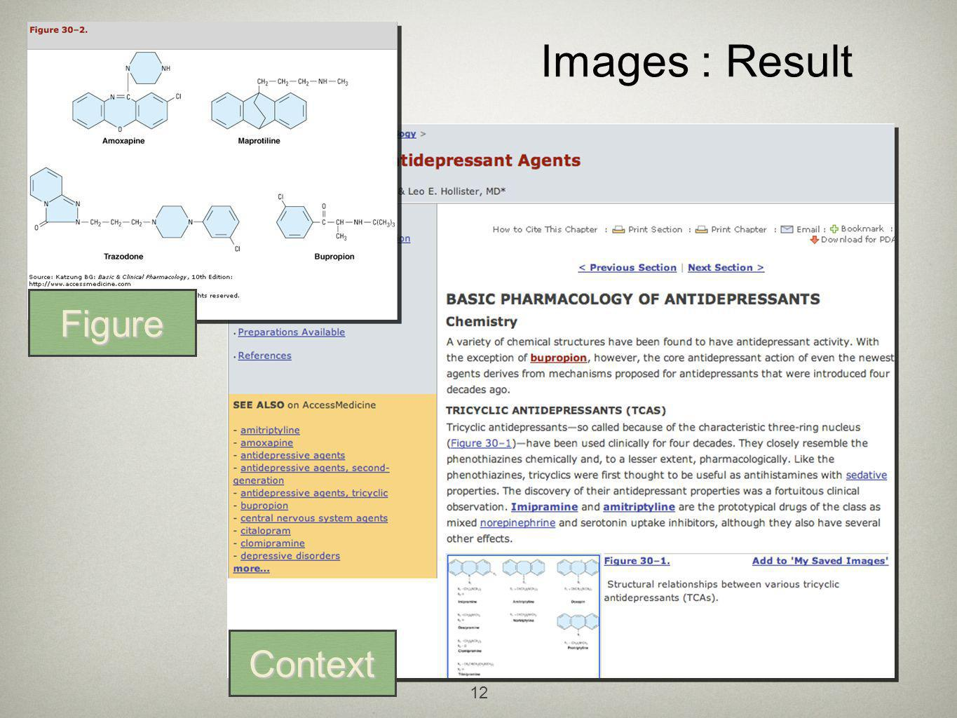 12 Images : Result Figure Context
