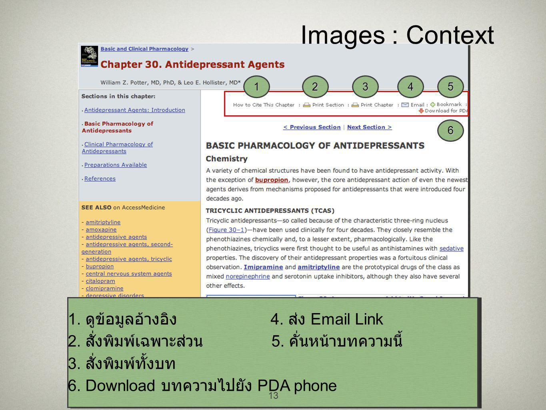 13 Images : Context 6 54321 1. ดูข้อมูลอ้างอิง 4.
