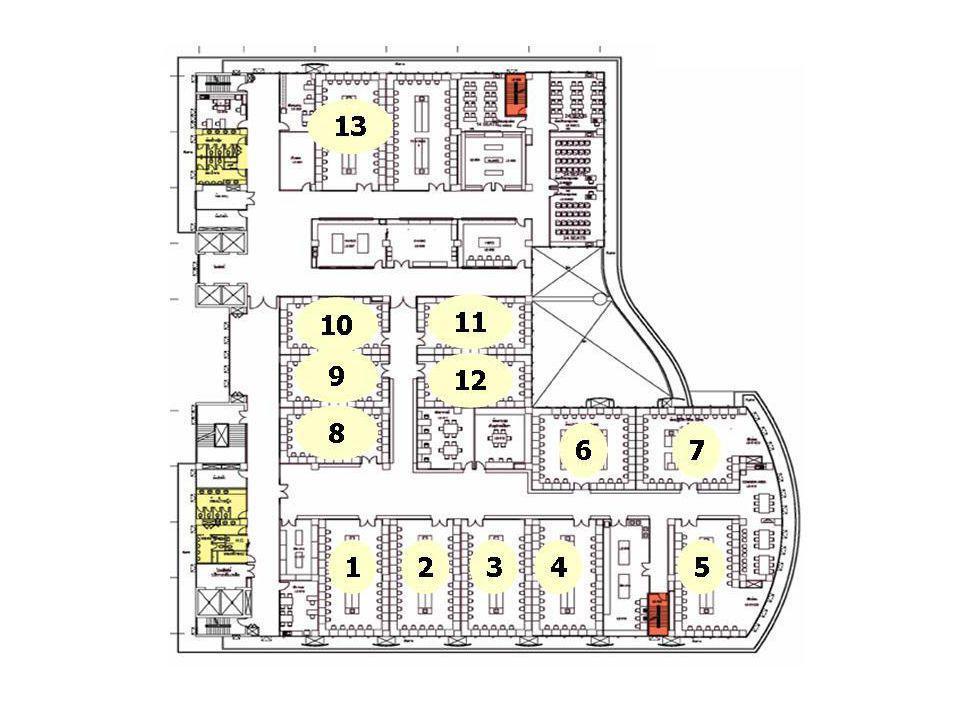 ประกาศเกี่ยวกับการสอบปฏิบัติการชีวเคมี SIBC 211 ข้อสอบ 1234 5 76 89 10 14131211 31 15 16 21 2223 2524 26 272829 30 ข้อพัก การสอบแบ่งออกเป็น 34 stations โดยเป็นข้อสอบ 29 ข้อ และ ข้อพัก 4 ข้อ (ตามรูป แสดงตัวอย่างกลุ่ม A ห้อง 301/302)