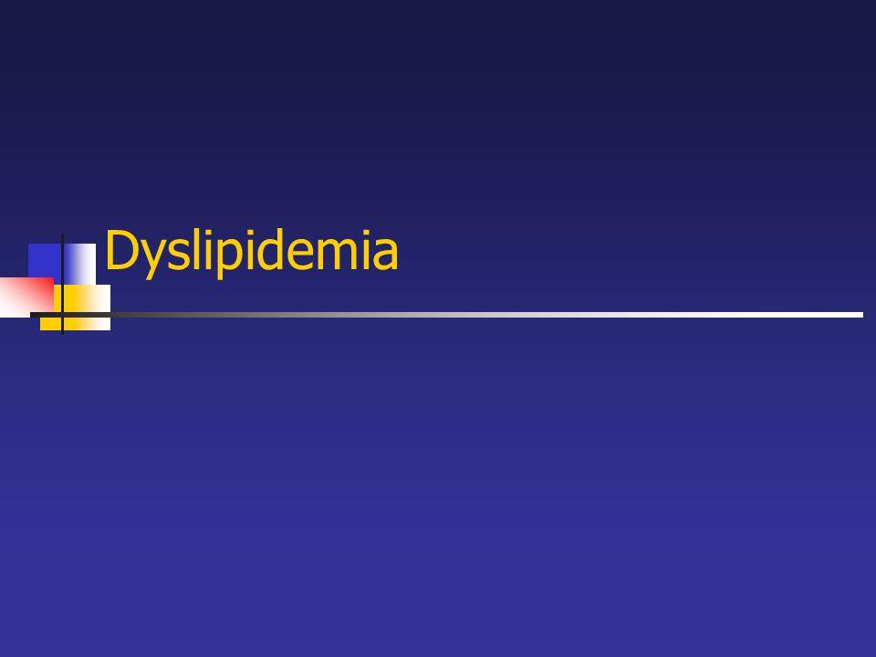 Dyslipidemia