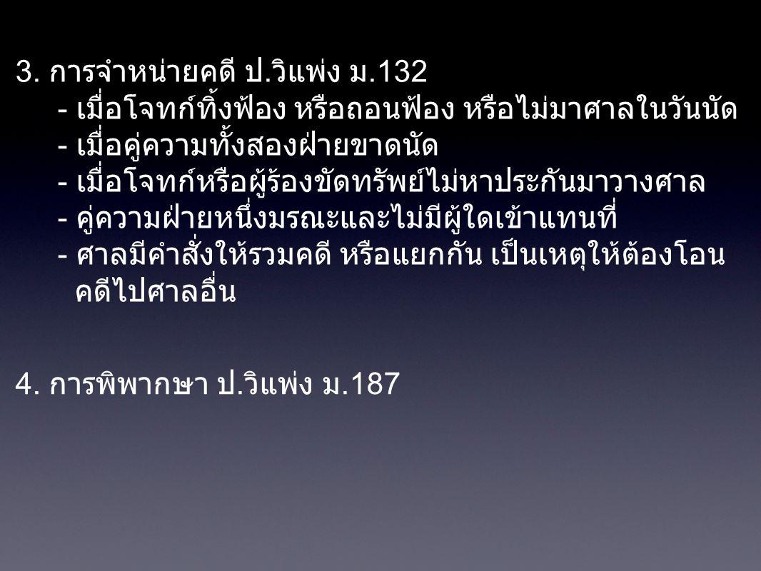 การฟ้องคดีอาญา ป.วิอาญา ม.158 1.
