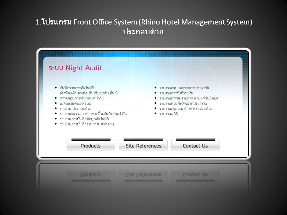 2.Restaurant Management System