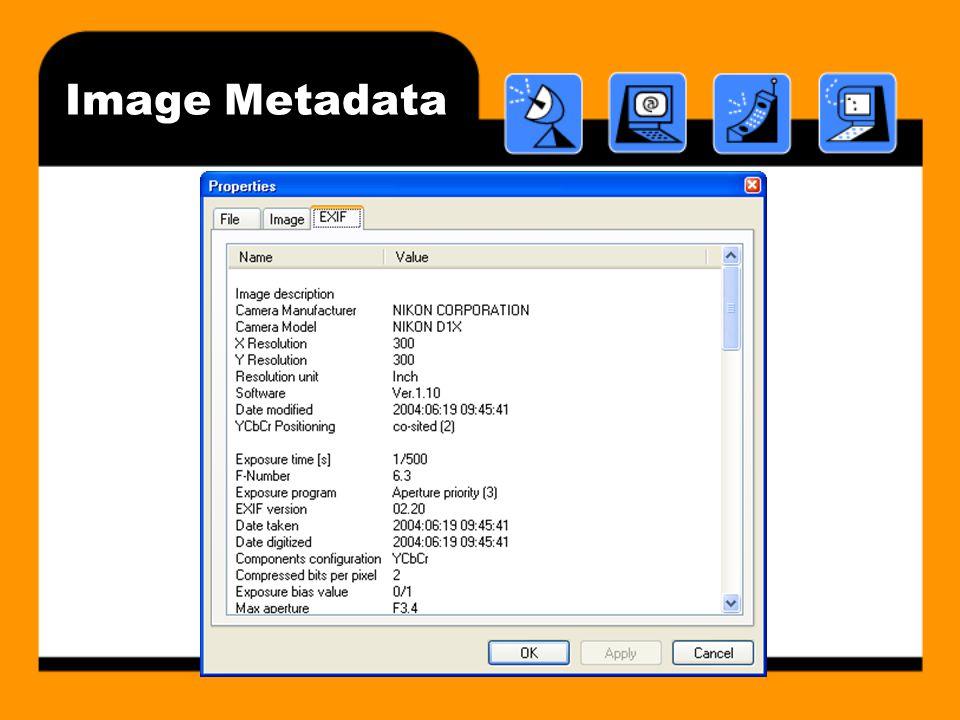 Image Metadata