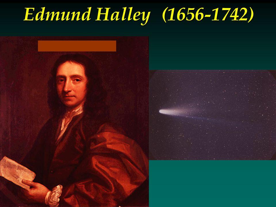 Edmund Halley(1656-1742)
