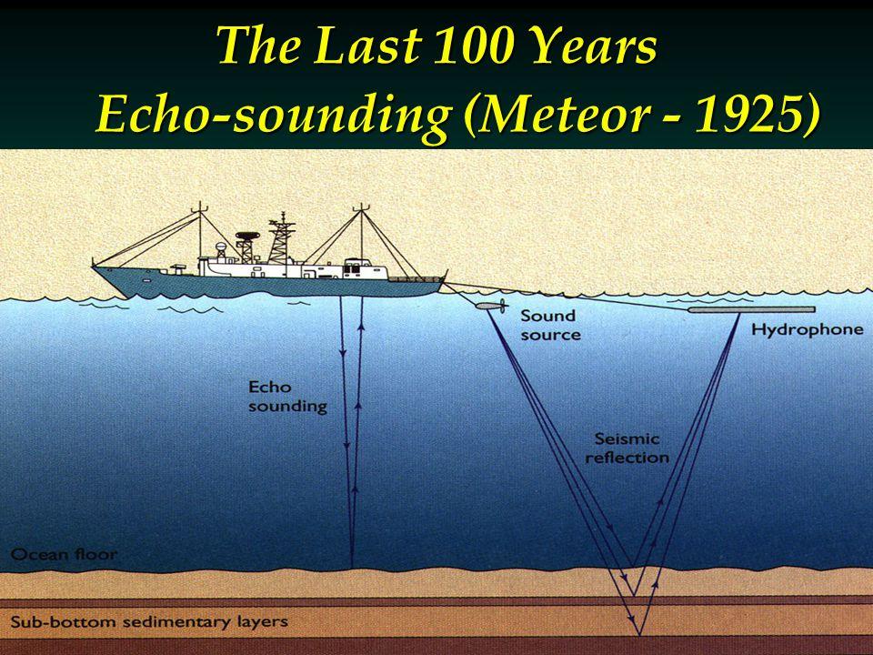 Echo-sounding (Meteor - 1925) The Last 100 Years