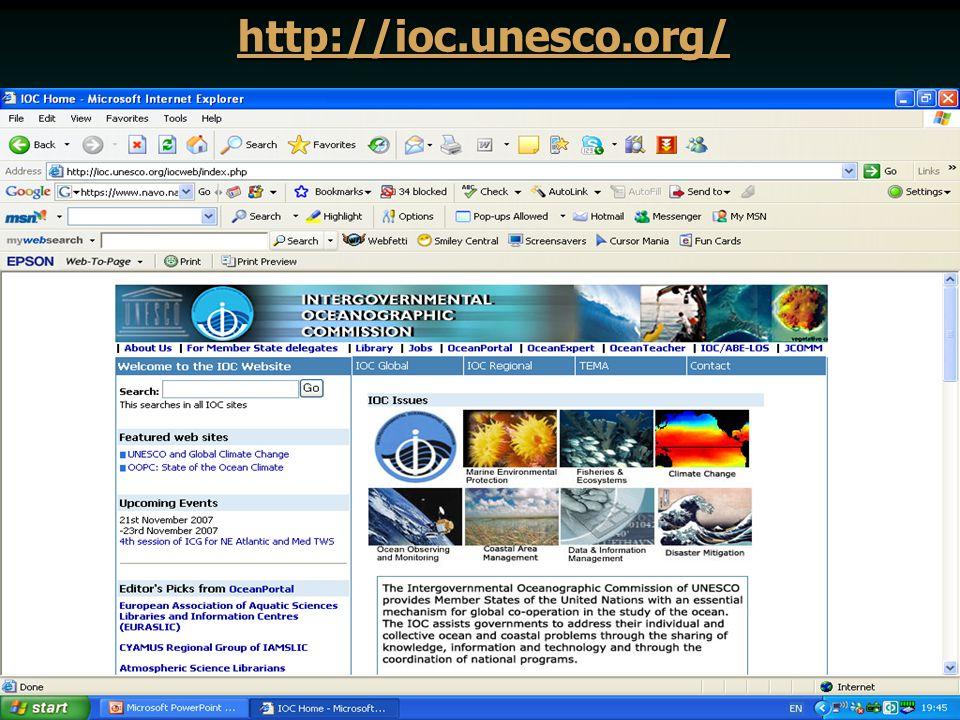 http://ioc.unesco.org/