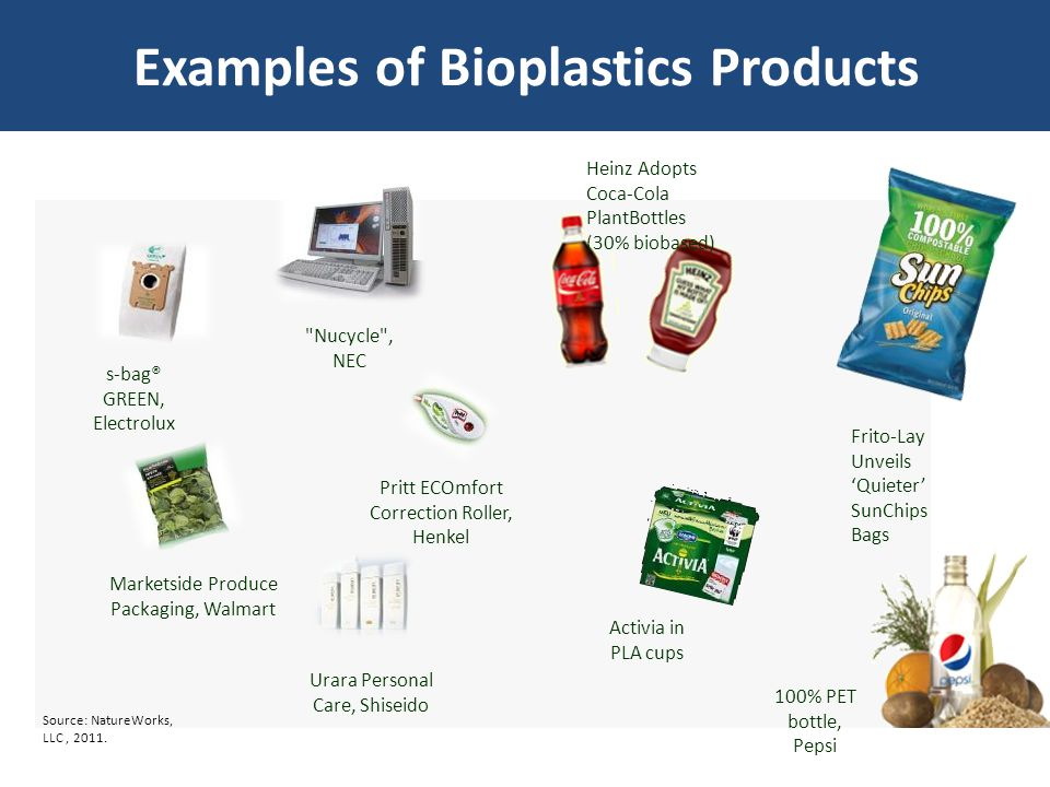 Examples of Bioplastics Products s-bag® GREEN, Electrolux