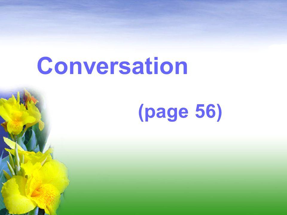 Conversation (page 56)