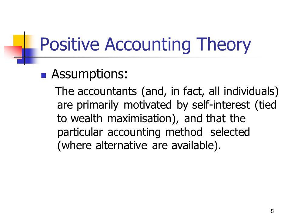 9 The Three Hypotheses 1.The Bonus Plan Hypothesis 2.