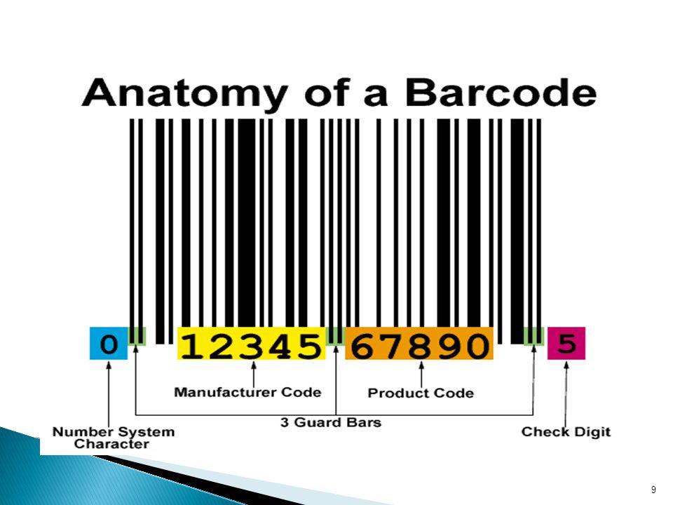  ประเภทของบาร์โค้ด ◦ บาร์โค้ด 1 มิติ ◦ บาร์โค้ด 2 มิติ  บาร์โค้ดกับงานห้องสมุด ◦ บัตรประจำตัวสมาชิก (Patron/ User Card) ◦ เลขประจำหนังสือ (Item Barcode) 10