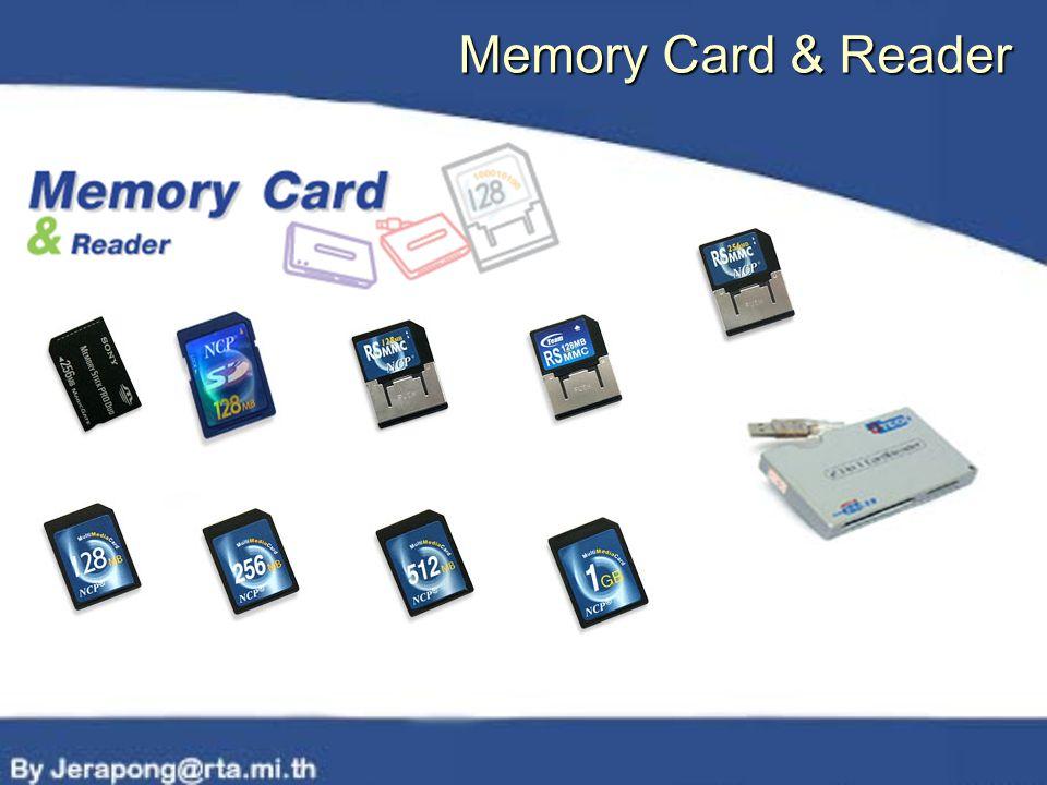 Memory Card & Reader
