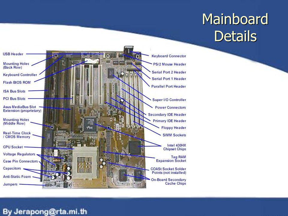 Mainboard Details