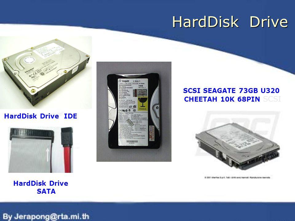 HardDisk Drive HardDisk Drive IDE HardDisk Drive SATA SCSI SEAGATE 73GB U320 CHEETAH 10K 68PIN SCSI