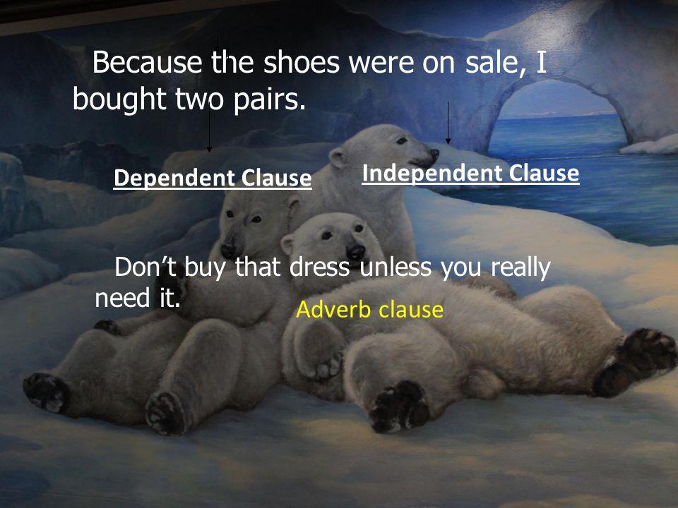 Adverb clause คือ ประโยคที่ทำหน้าที่เหมือน Adverb ขยายคำกริยา คำคุณศัพท์ และคำกริยา วิเศษณ์ที่อยู่ในประโยคอื่นได้ ประเภทของ Adverb clauses มีดังนี้