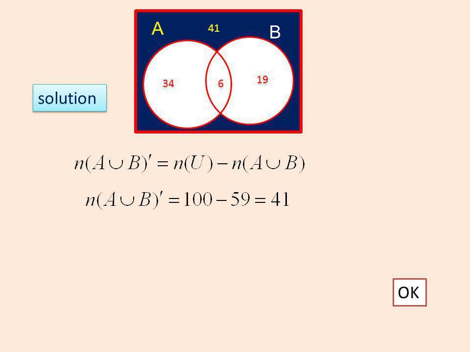 6) The diagram shows the set U, A, B and C It is given that n(U)=50, n(A)=25, n(B) =20, n(C) = 30 5 5 A B C 10-5 5 5 15-5 10 12-5 7 7 30-10-5-5 10 20-7-5-5 3 3 25-10-5-7 3 3 50-43 7 7 OK