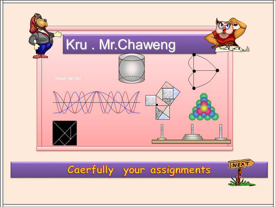 Kru. Mr.Chaweng Stand SW 100