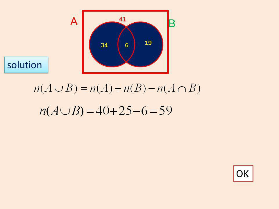A B OK 6 6 34 19 41 solution