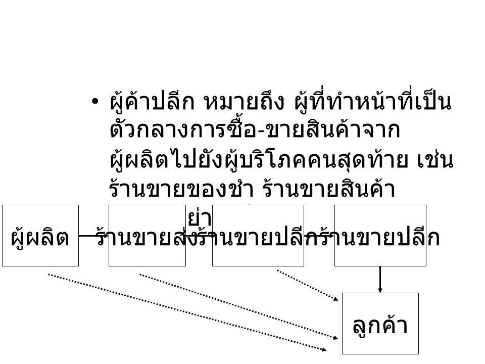 2.2 แนะนำการค้าปลีก อิเล็กทรอนิกส์ การค้าปลีกอิเล็กทรอนิกส์ (E- Retailing) หมายถึง การขาย สินค้าและบริการให้กับผู้บริโภค ผ่านทางสื่ออิเล็กทรอนิกส์ โดยตรง โดยไม่ต้องผ่านคน กลาง หรือตลาดกลาง อิเล็กทรอนิกส์ (E-Marketplace) ใดๆ โดยส่วนมาก E-Retailing จะมี ลักษณะเป็น E-Commerce แบบ B2C