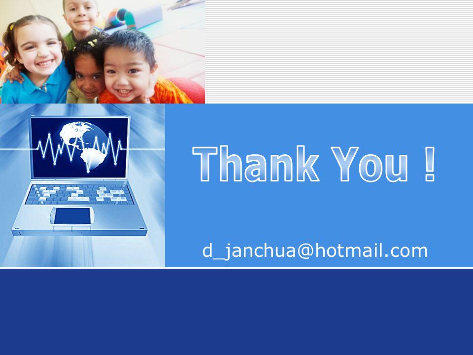 Company LOGO d_janchua@hotmail.com