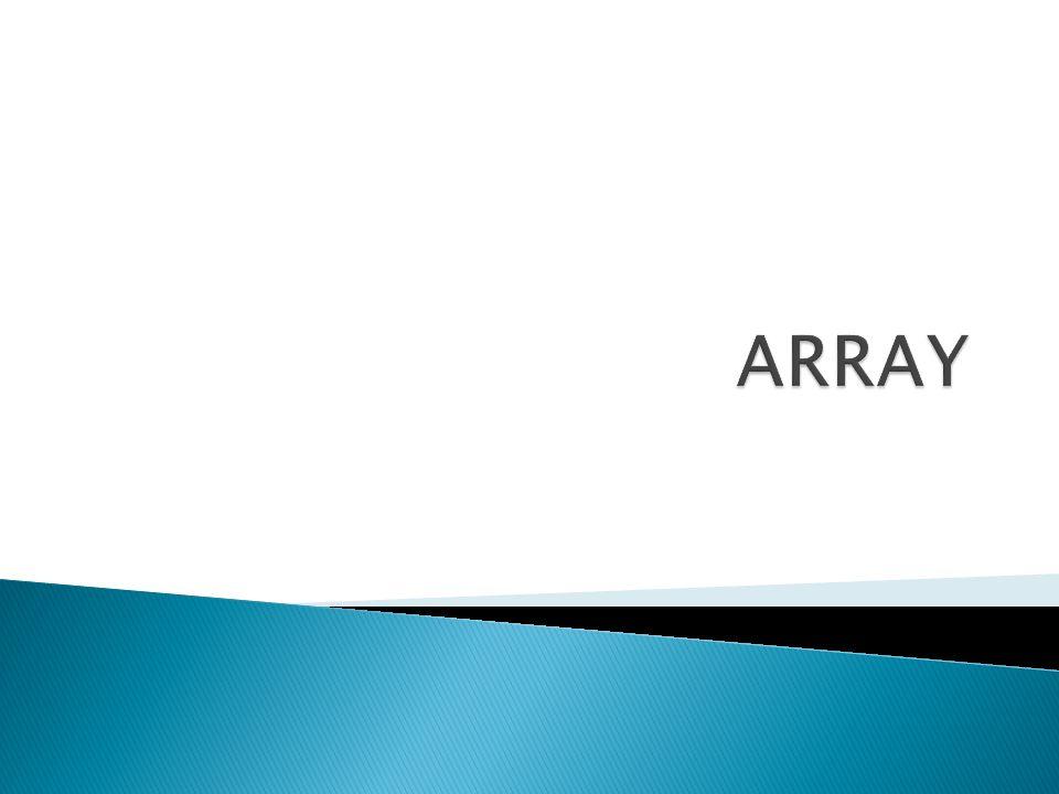 Array คืออ ะไ ร .จำเป็นแค่ไหน . 1. Array คือ ตัวแปรที่เก็บข้อมูลแบบเป็นตาราง 2.