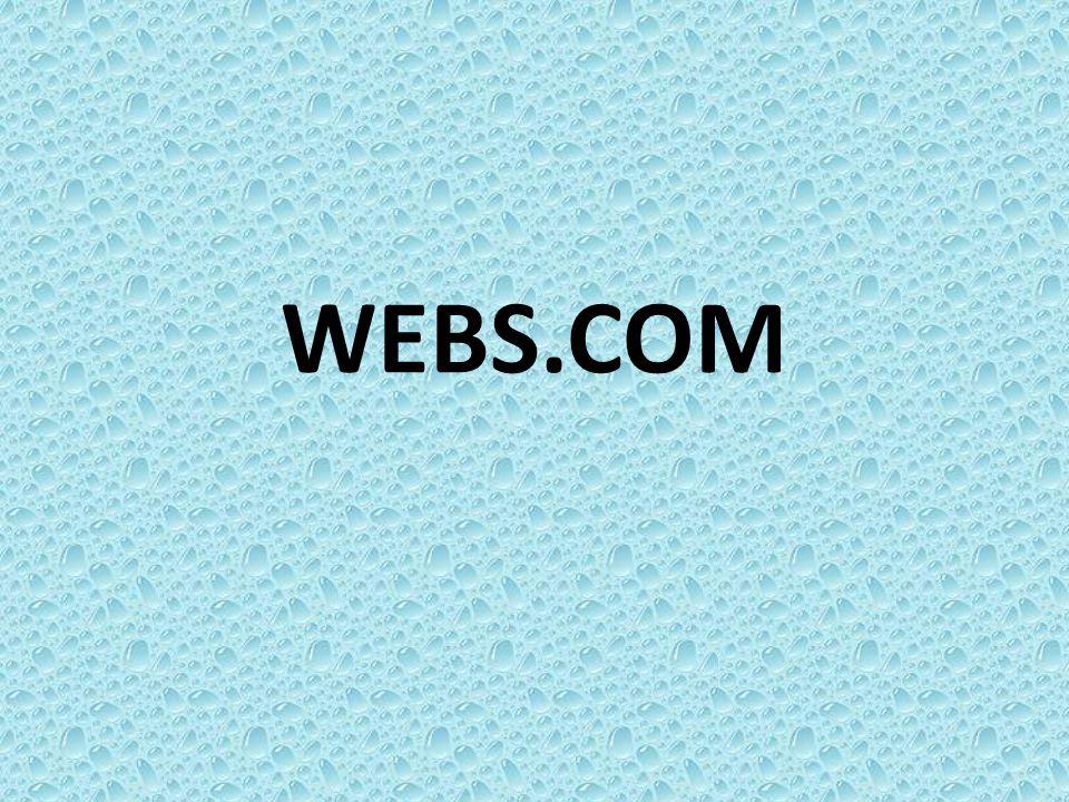1. พิมพ์ webs.com จะหน้าต่างนี้ขึ้นมาเป็น หน้าแรก