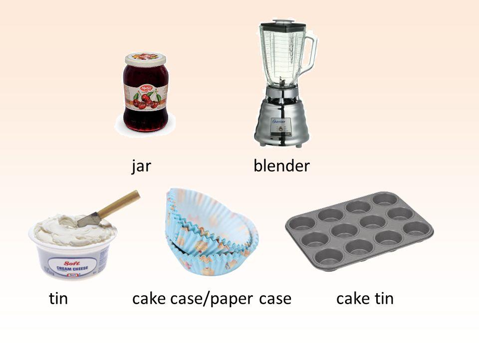 tin cake case/paper case cake tin jar blender