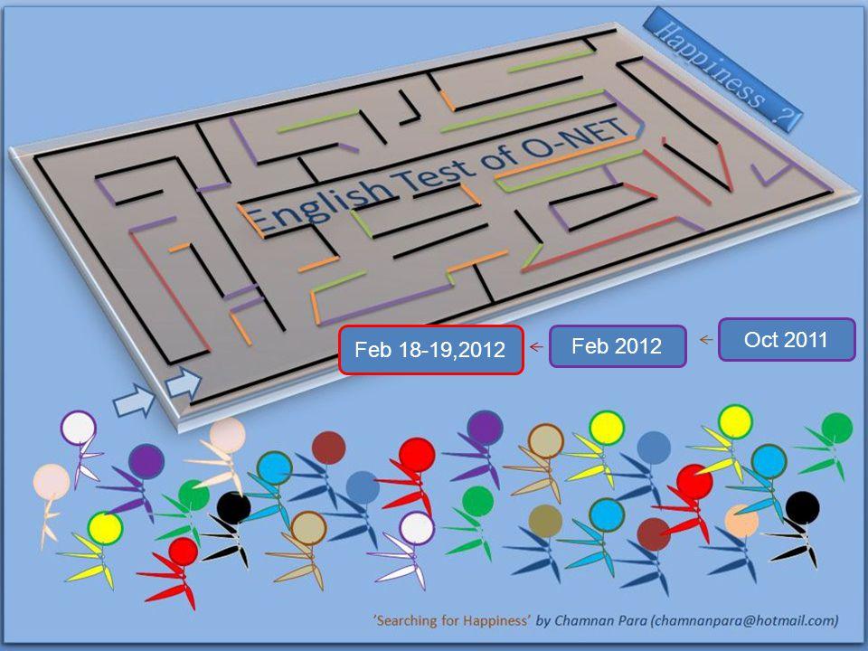 Oct 2011 Feb 2012 Feb 18-19,2012