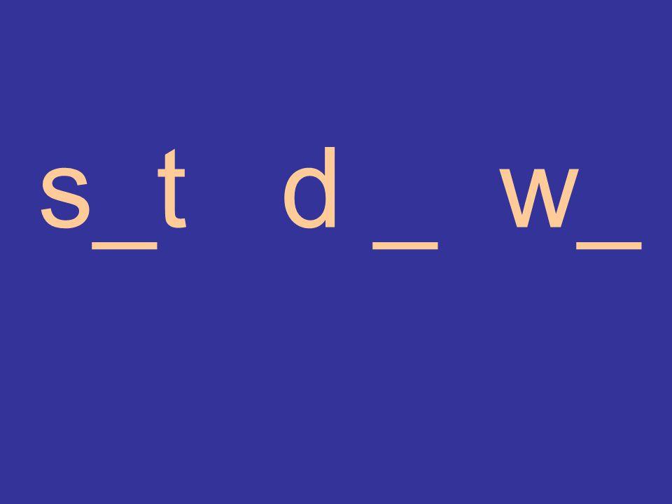 s_t d _ w_