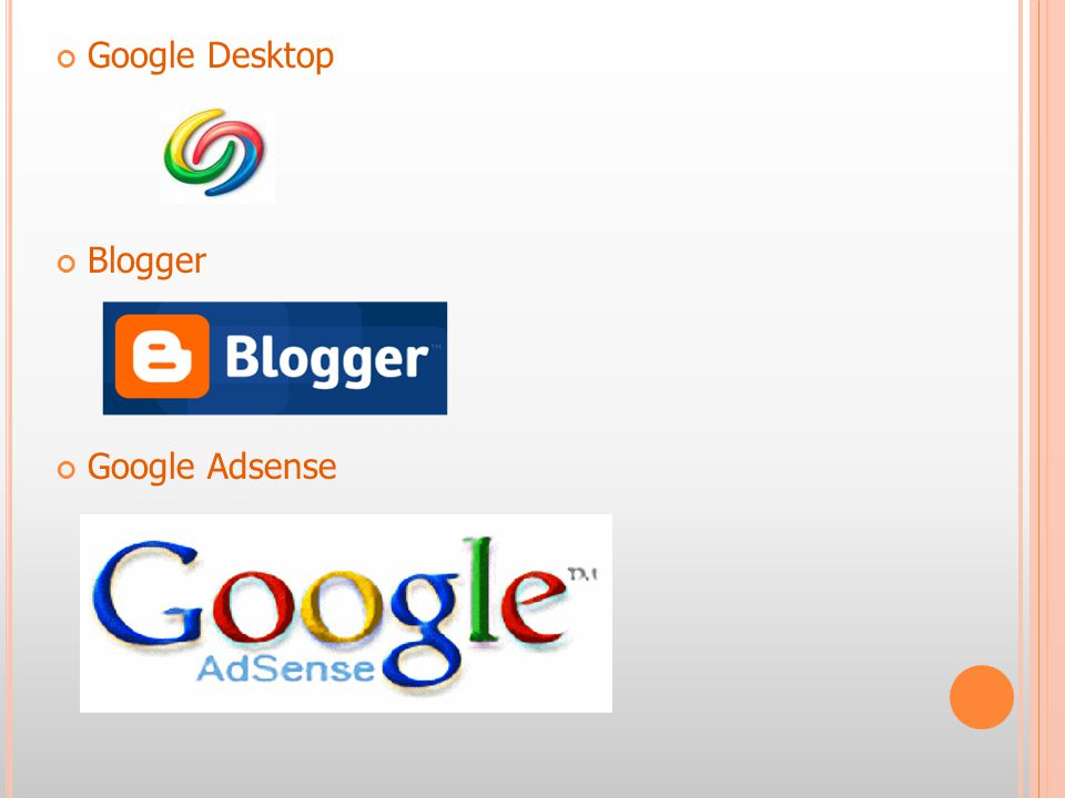 Google Desktop คืออะไร .