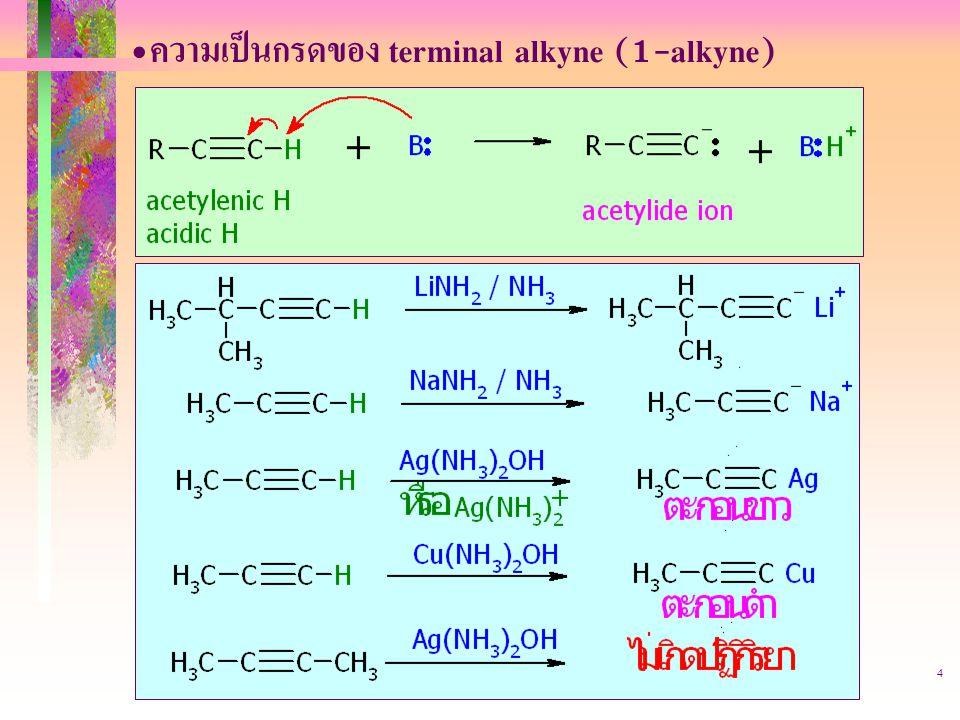 403221-alkyne4 ความเป็นกรดของ terminal alkyne (1-alkyne)
