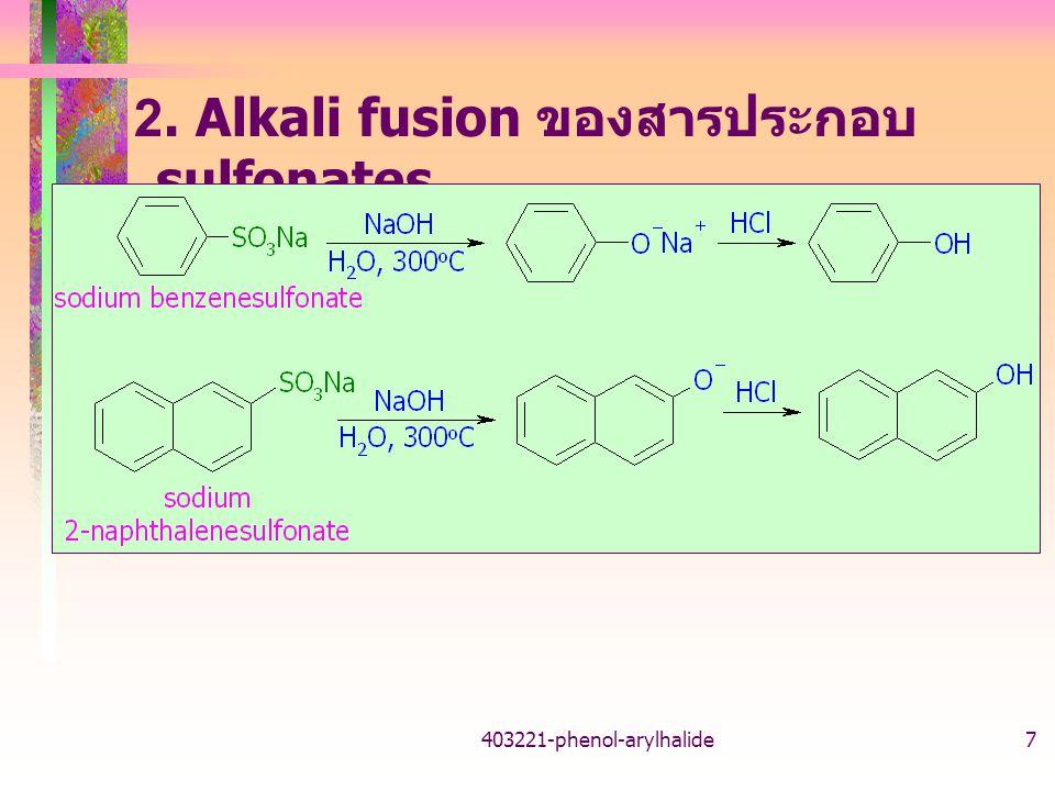 403221-phenol-arylhalide8 3. เตรียมจาก cumene (isopropylbenzene)